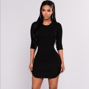 Fashion Nova ribbed tunic